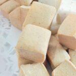 Nubes de azúcar Lemon Jelly de Manzana asada con canela