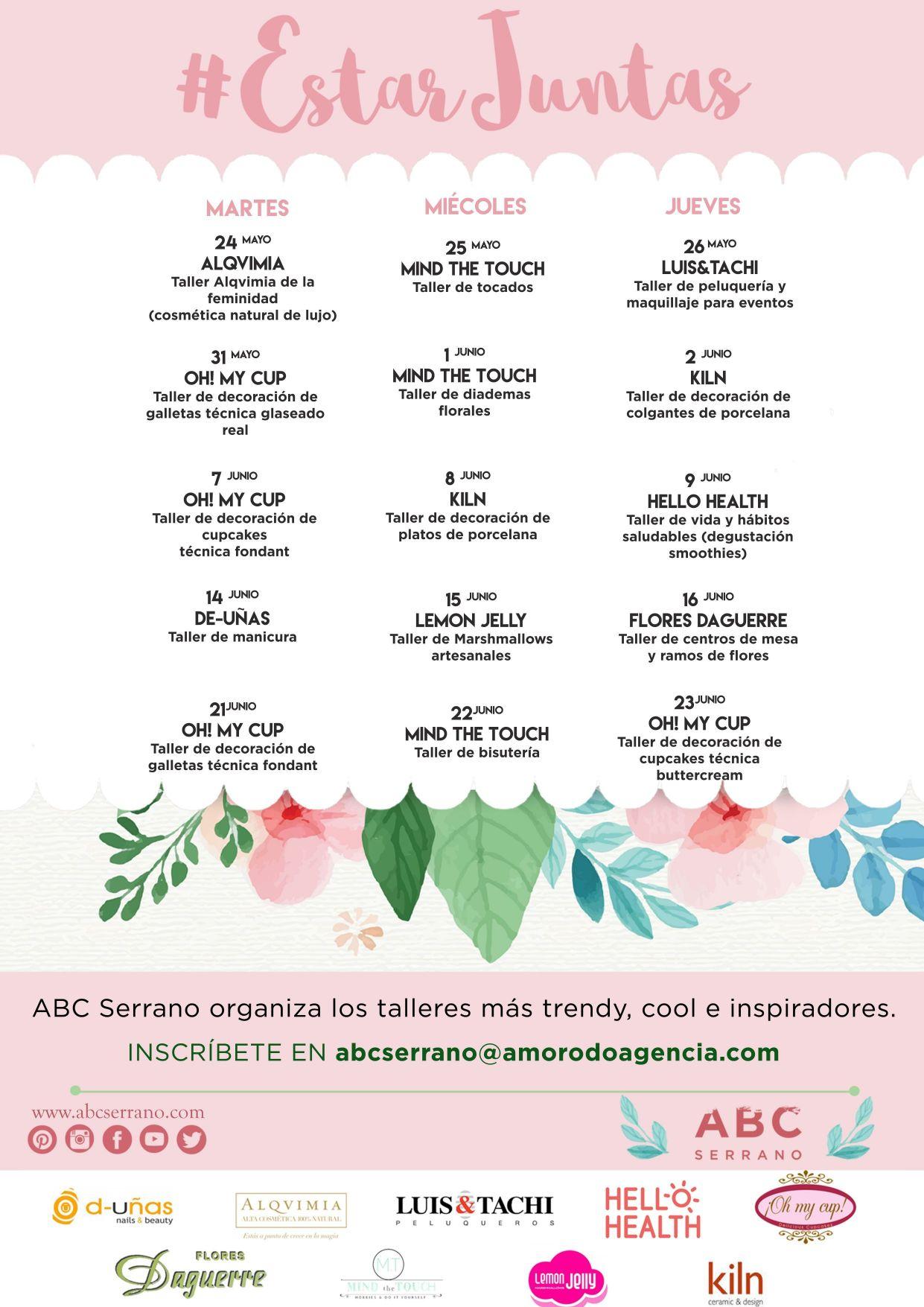 ABC Serrano Talleres ESTAR JUNTAS