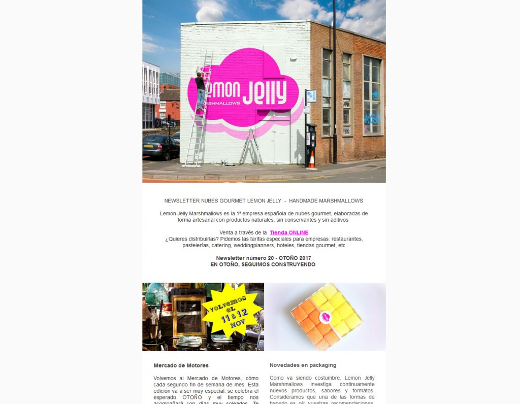 Newsletter Lemon Jelly