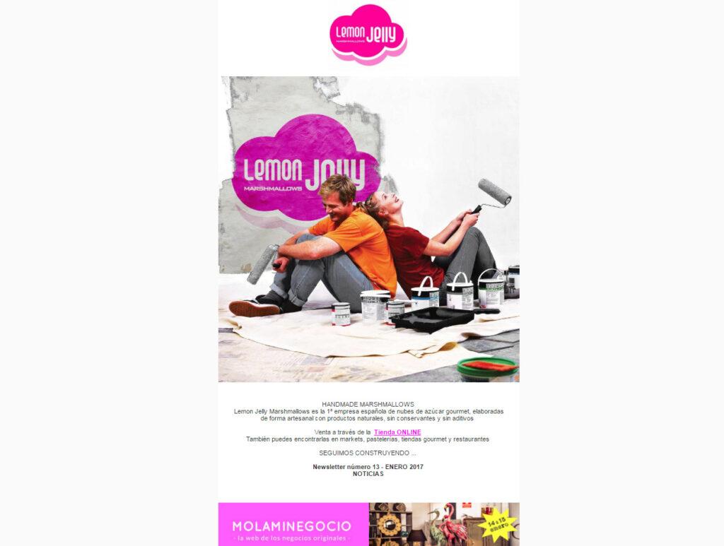 Newsletter Lemon Jelly
